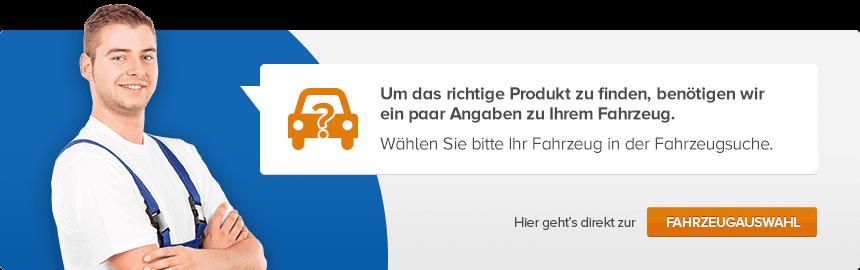 Wählen Sie bitte Ihr Fahrzeug in der Fahrzeugsuche