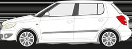 Für Skoda Fabia Kombi 04.2000-12.2007 AUTO HAK Anhängerkupplung starr NEU