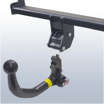 Anhängerkupplung für Skoda Roomster Typ 5J (05.2006 - 03.2010)