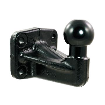 Anschraubplatte / Kugelplatte (4 - Loch Bild)