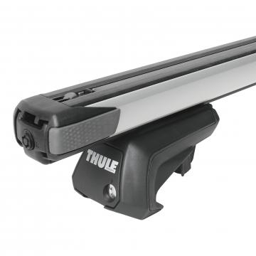 Dachträger Thule SlideBar für Chevrolet Spark 03.2010 - jetzt Aluminium
