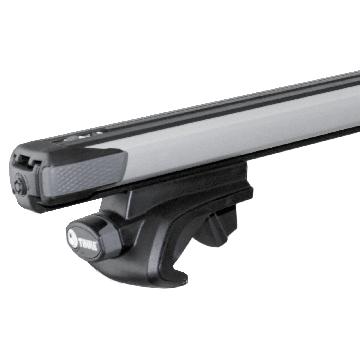 Dachträger Thule SlideBar für Suzuki Samurai SJ 09.1981 - 08.1999 Aluminium
