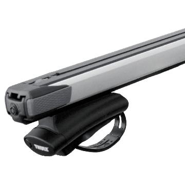 Dachträger Thule SlideBar für Peugeot Bipper 02.2008 - jetzt Aluminium