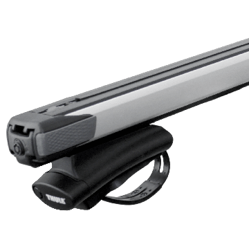 Dachträger Thule SlideBar für Mitsubishi Space Wagon 10.1998 - 01.2005 Aluminium