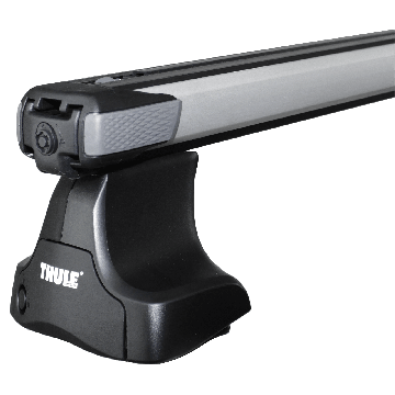Dachträger Thule SlideBar für Honda Jazz 10.2008 - 06.2015 Aluminium