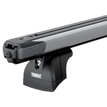 Dachträger Thule SlideBar für Suzuki Swift Fliessheck 10.2010 - 06.2017 Aluminium