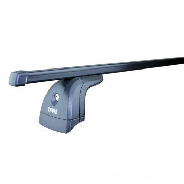 Dachträger Thule SquareBar für Opel Astra G Stufenheck 09.1998 - 02.2005 Stahl