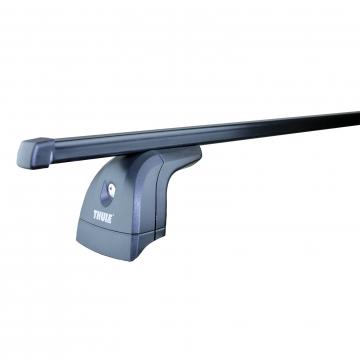 Dachträger Thule SquareBar für Citroen Nemo 02.2008 - jetzt Stahl