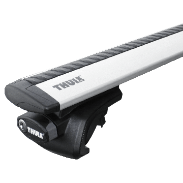 Dachträger Thule WingBar für Mitsubishi Grandis 04.2004 - jetzt Aluminium