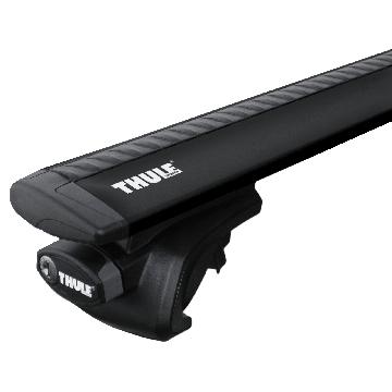 Dachträger Thule WingBar für Lada 2111 Kombi 1998 - jetzt Aluminium