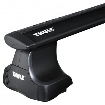 Dachträger Thule WingBar für Nissan Almera Stufenheck 07.2000 - jetzt Aluminium