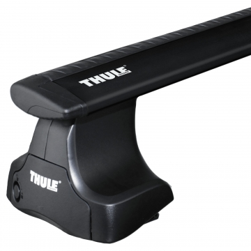 Dachträger Thule WingBar für Nissan Micra 01.2003 - 09.2010 Aluminium