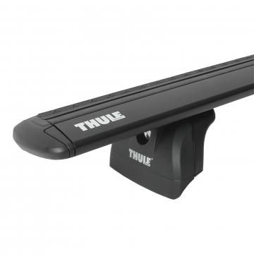 Dachträger Thule WingBar für Peugeot 607 01.2000 - jetzt Aluminium