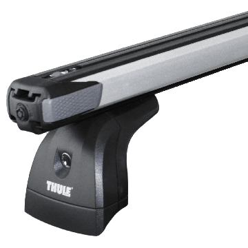 Dachträger Thule SlideBar für VW T5 Aluminium