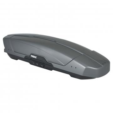 thule motion sport xt dachbox 300l grau silber. Black Bedroom Furniture Sets. Home Design Ideas