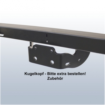 Anhängerkupplung für VW Crafter (04.2006 - jetzt) Pritsche 4,6t zul. Gesamtgewicht Radstand 3665mm