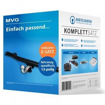 Komplettsatz: AHK und 13 pol. E-Satz für Mazda 2 (04.2003 - 08.2007) inkl. Einbau