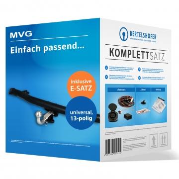 Komplettsatz: AHK und 13 pol. E-Satz für Mazda 2 ( 04.2003 - 08.2007 ) inkl. Einbau