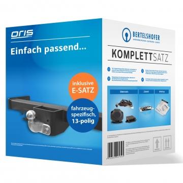 Komplettsatz: AHK und 13 pol. E-Satz für Opel Movano ( 04.2010 - 10.2012 ) inkl. Einbau