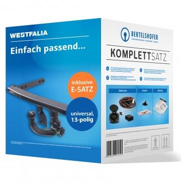 Komplettsatz: AHK und 13 pol. E-Satz für Kia Sportage ( 09.2004 - 07.2010 ) inkl. Einbau