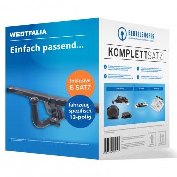 Komplettsatz: AHK und 13 pol. E-Satz für Mercedes Citan Kasten/Bus ( 10.2012 - jetzt )