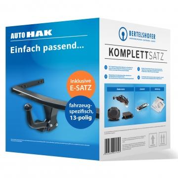 Komplettsatz: AHK und 13 pol. E-Satz für VW Touareg ( 2002 - 12.2004 )