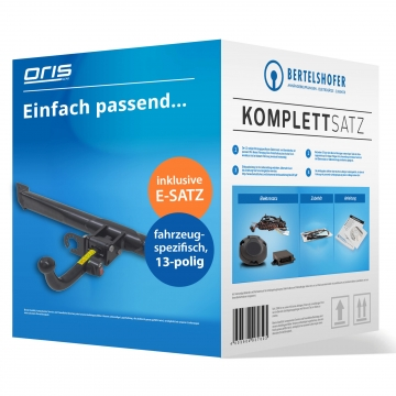Komplettsatz: AHK und 13 pol. E-Satz für Peugeot 206+ Fliessheck ( 2009 - jetzt )