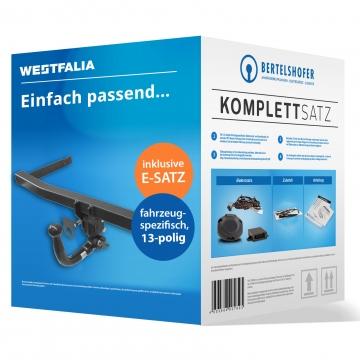 Komplettsatz: AHK und 13 pol. E-Satz für Subaru Impreza Fliessheck ( 10.2007 - 05.2012 )