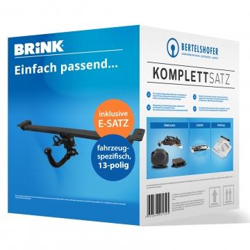 Komplettsatz: AHK und 13 pol. E-Satz für Audi A3 Sportback (5-Türer) ( 03.2013 - 05.2014 ) inkl. Einbau