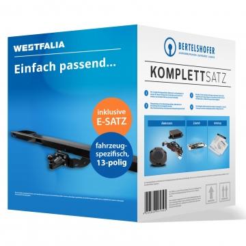 Komplettsatz: AHK und 13 pol. E-Satz für Renault Master ( 01.2004 - 03.2010 ) inkl. Einbau