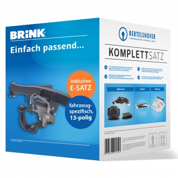 Komplettsatz: AHK und 13 pol. E-Satz für Opel Insignia Stufenheck ( 11.2008 - 09.2013 )