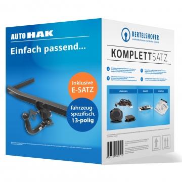 Komplettsatz: AHK und 13 pol. E-Satz für Fiat Panda ( 01.2012 - jetzt )