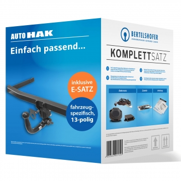 Komplettsatz: AHK und 13 pol. E-Satz für Mitsubishi Lancer Sportback ( 01.2012 - jetzt )