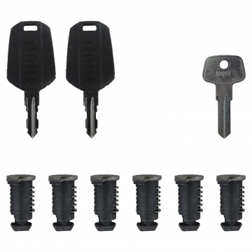 6 Schließzylinder Thule One Key System