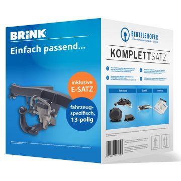 Komplettsatz: AHK und 13 pol. E-Satz für BMW X3 (03.2014 - 09.2017)
