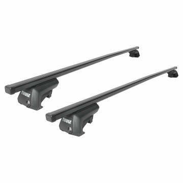 Dachträger Thule SquareBar für Mitsubishi Space Wagon 10.1998 - 01.2005 Stahl