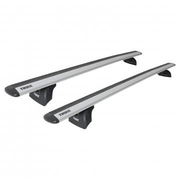 Dachträger Thule WingBar für Fiat Punto Fliessheck 03.2012 - jetzt Aluminium