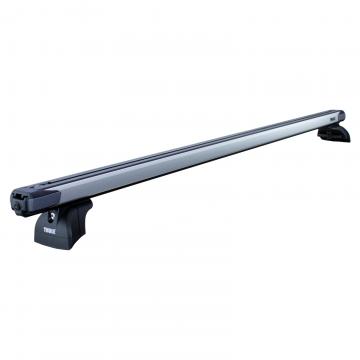 Dachträger Thule SlideBar für Kia Carens 03.2013 - jetzt Aluminium