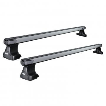 Dachträger Thule SlideBar für Kia Soul 01.2012 - 02.2014 Aluminium