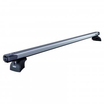 Dachträger Thule SlideBar für Peugeot 607 01.2000 - jetzt Aluminium