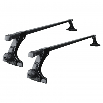Dachträger Thule SquareBar für Toyota Paseo Coupe 08.1995 - 07.1999 Stahl