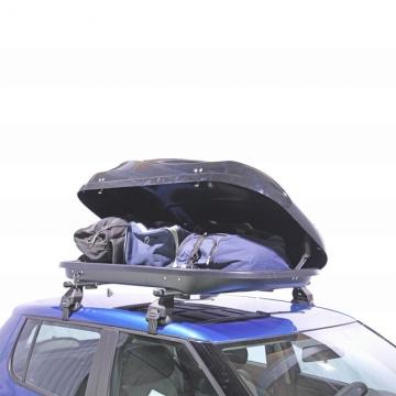 Dachbox Junior Altro 370 schwarz glänzend