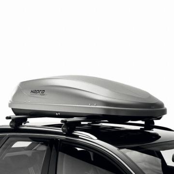 Dachbox Hapro Traxer 4.6 grau silber