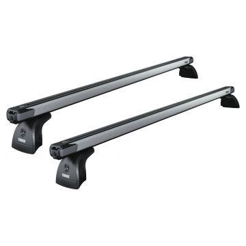 Dachträger Thule SlideBar für Ford Transit Courier 02.2014 - jetzt Aluminium
