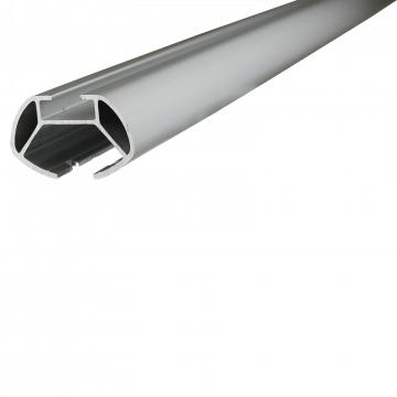 Dachträger Menabo Tema für Peugeot 607 01.2000 - jetzt Aluminium
