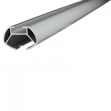 Dachträger Menabo Tema für Peugeot 206+ Fliessheck 2009 - jetzt Aluminium