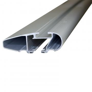 Dachträger Thule WingBar für Opel Meriva B 06.2010 - jetzt Aluminium