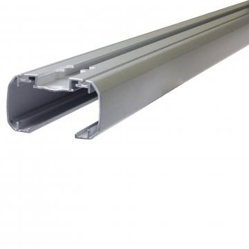 Dachträger Thule SlideBar für Nissan Pixo 03.2009 - jetzt Aluminium