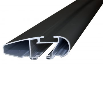 Dachträger Thule WingBar für Jaguar XF Limousine 09.2011 - 09.2015 Aluminium