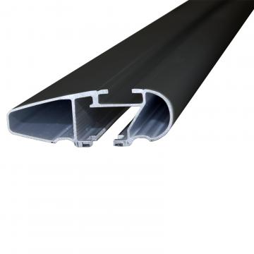 Dachträger Thule WingBar für Peugeot 206+ Fliessheck 2009 - jetzt Aluminium